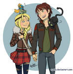 Httyd 2 - Hiccup and Astrid