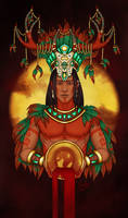 Mayans ~ Acan - The Crowning