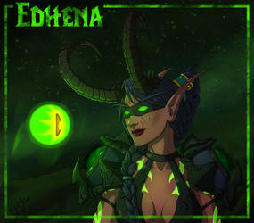 Wow - Illidari Edhena and The Eye of the Legion by Eyoha