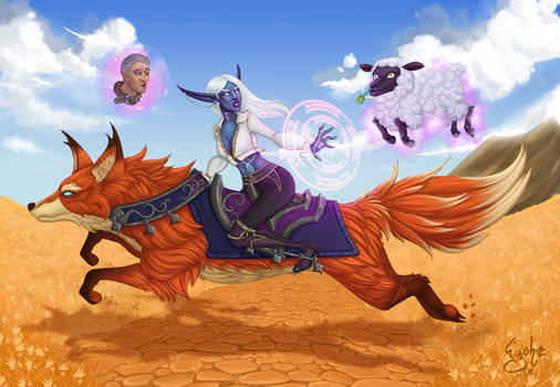 Wow - Archmage Enora and Khadgar