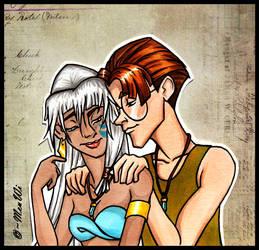 - Milo and Kida - by MeuWi