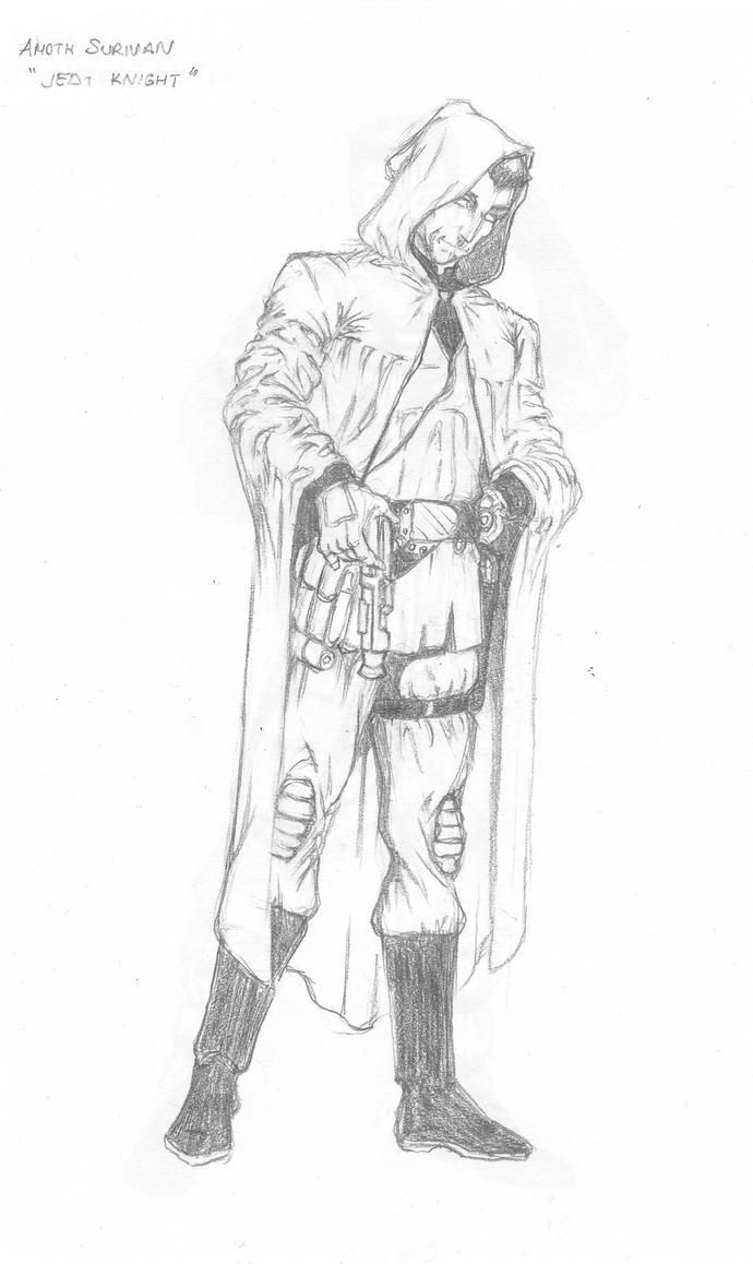 jedi knight coloring pages - col amoth surivan jedi knight by altugbulca on deviantart