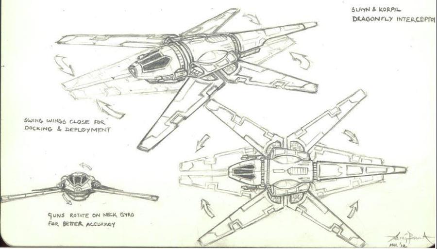 Dragonfly interceptor by AltugBulca