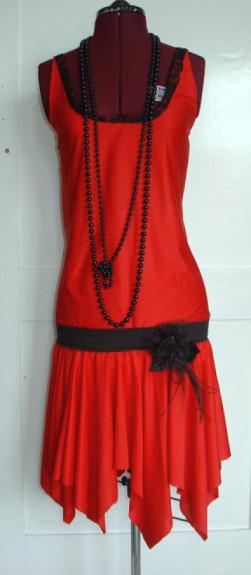 1920's Flapper Dress by Eld-nora