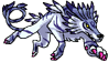 Garurumon.Stamp by guardianofire