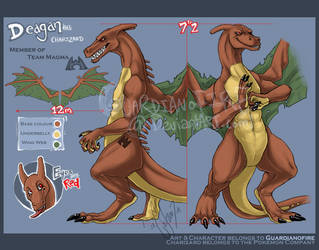 Deagan.Character.Ref by guardianofire