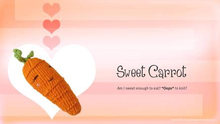 Free Sweet Carrot Knitting Desktop Wallpapers by AmareeLis