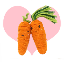 Knitting Sweet Carrot and Cool Carrot Lovey Dovey! by AmareeLis