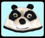 Knitted Panda Hat Beanie