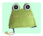 Frog Coin Purse Front View