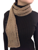 Unisex Lace Border Scarf by AmareeLis