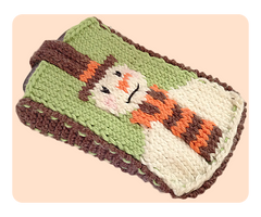Snowman Mobile Phone Cover