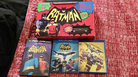 My current Batman DVD/blu-ray collection by rkerekes13