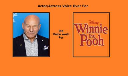 Patrick Stewart as narrator for Winnie The Pooh by rkerekes13