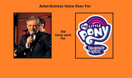 If Frankie Valli voiced for MLP: FIM by rkerekes13