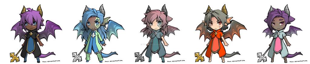 Cheap Character Adopts 1/5 [PENDING] by Velemoon