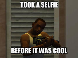 Carl Johnson Selfie by Nomikhan962