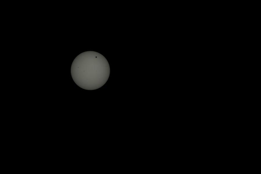Venus transit by asaph70