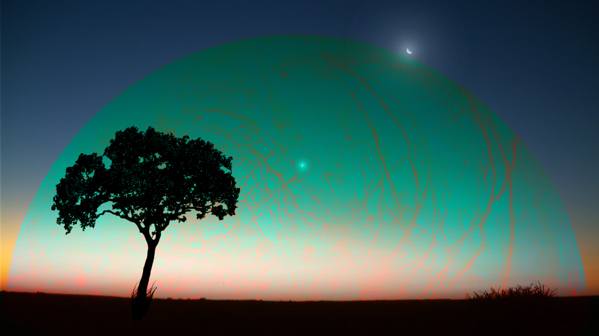Landscape with the appearance of strange planet by Topas2012 on ...