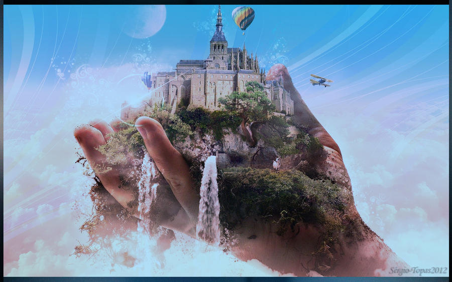 IN THE PALM OF YOUR HAND! by Topas2012