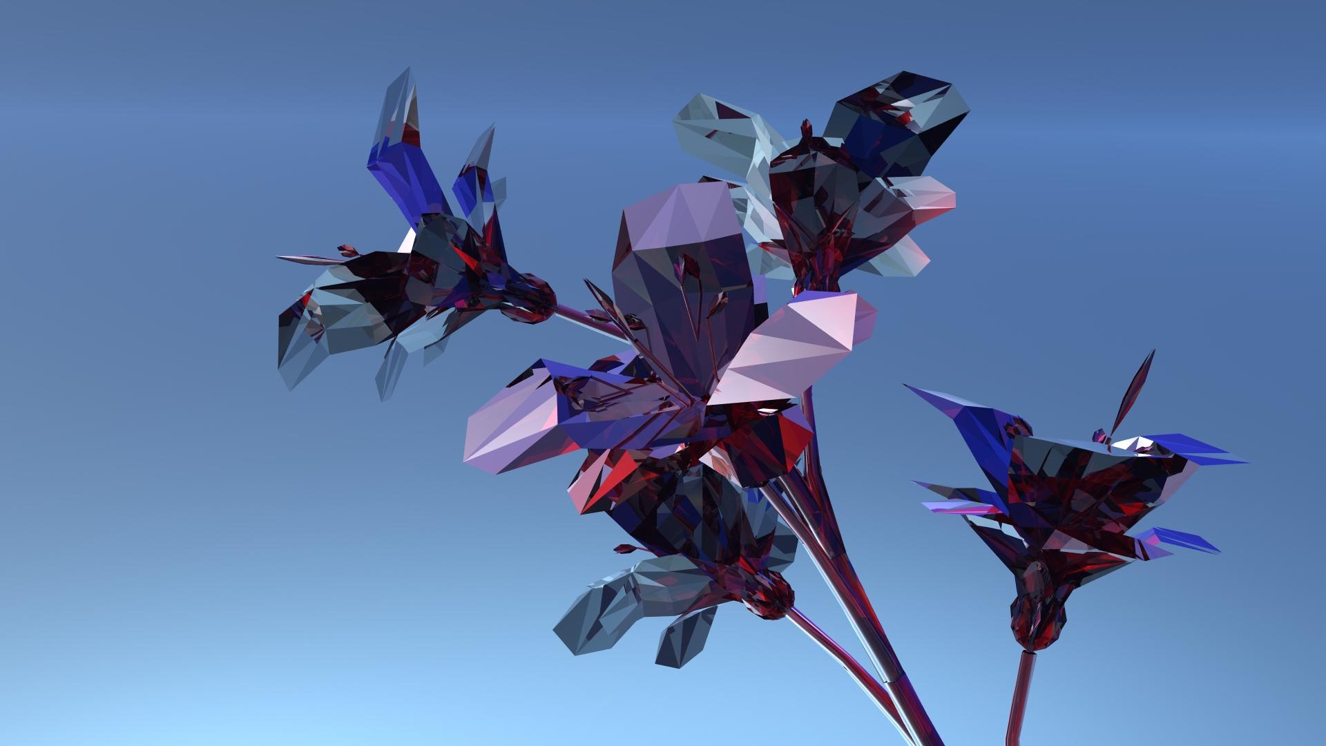 Diamond flowers by Topas2012