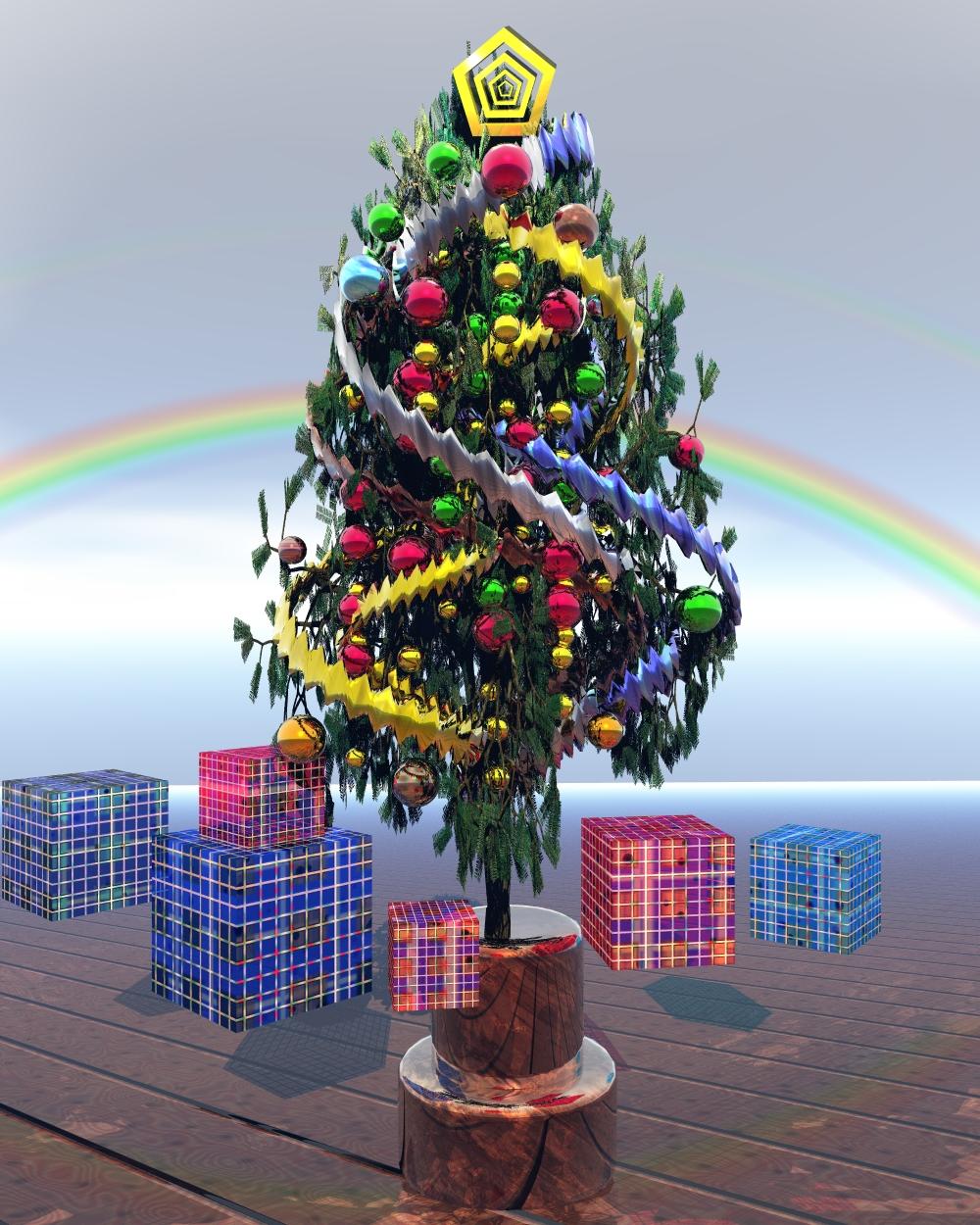 Christmas Tree by Topas2012