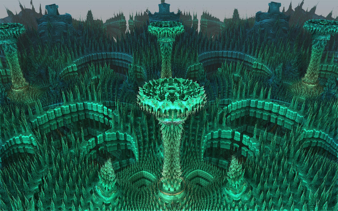 the garden by Topas2012