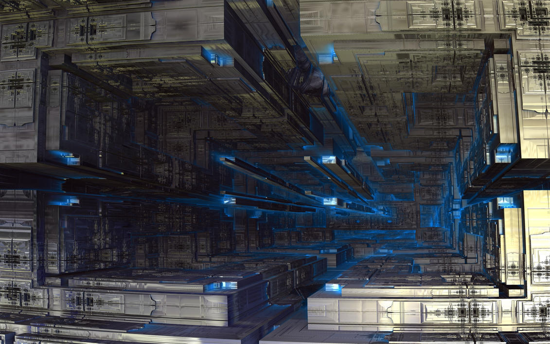 The Mother Ship Gate by Topas2012