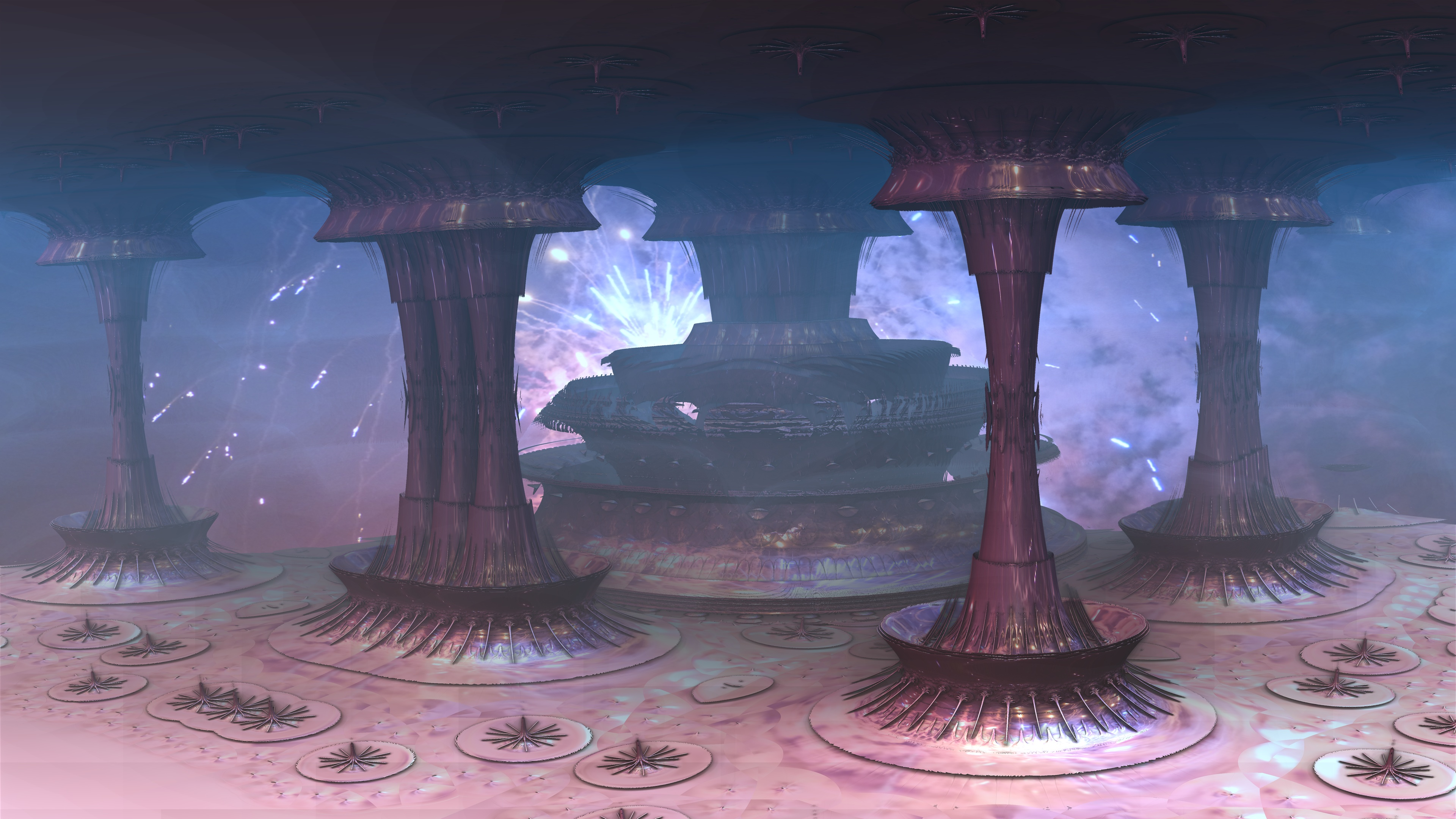 the pilars of universe by Topas2012