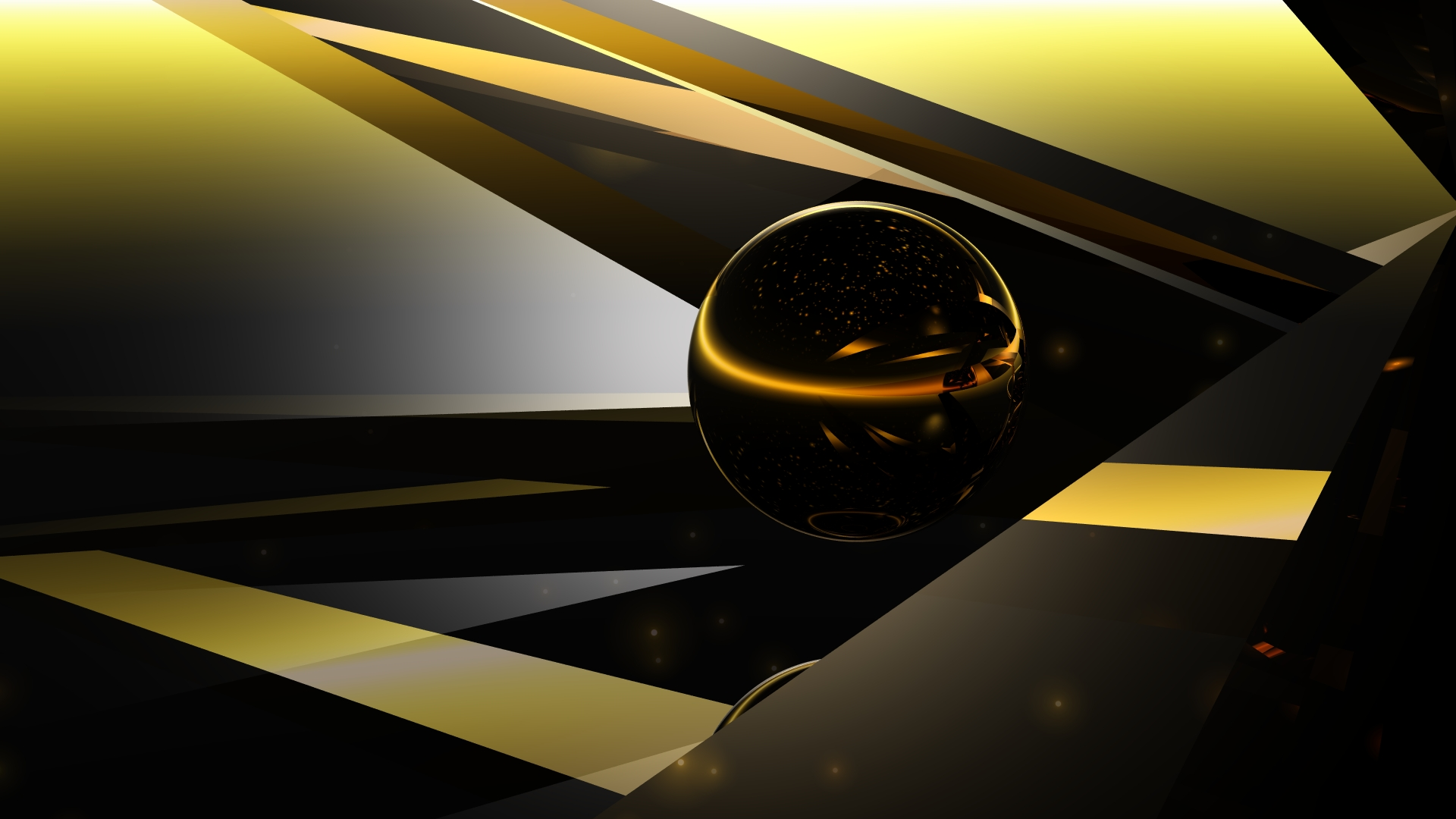Golden Sphere by Topas2012