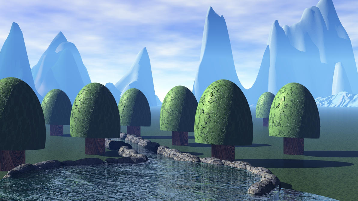 UNREAL WORLD (Updated quality) by Topas2012