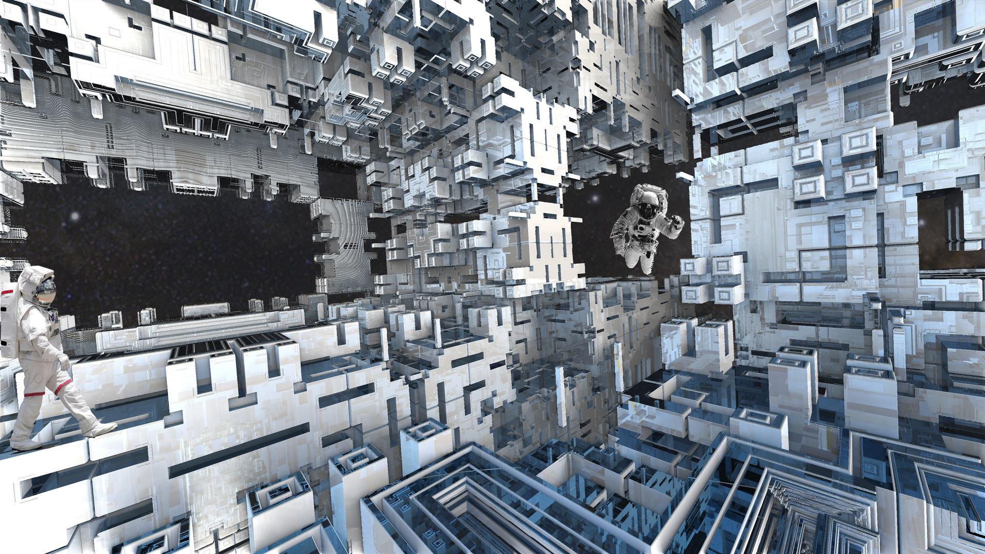 Wohnungen waren - jetzt ist die Raumstation by Topas2012