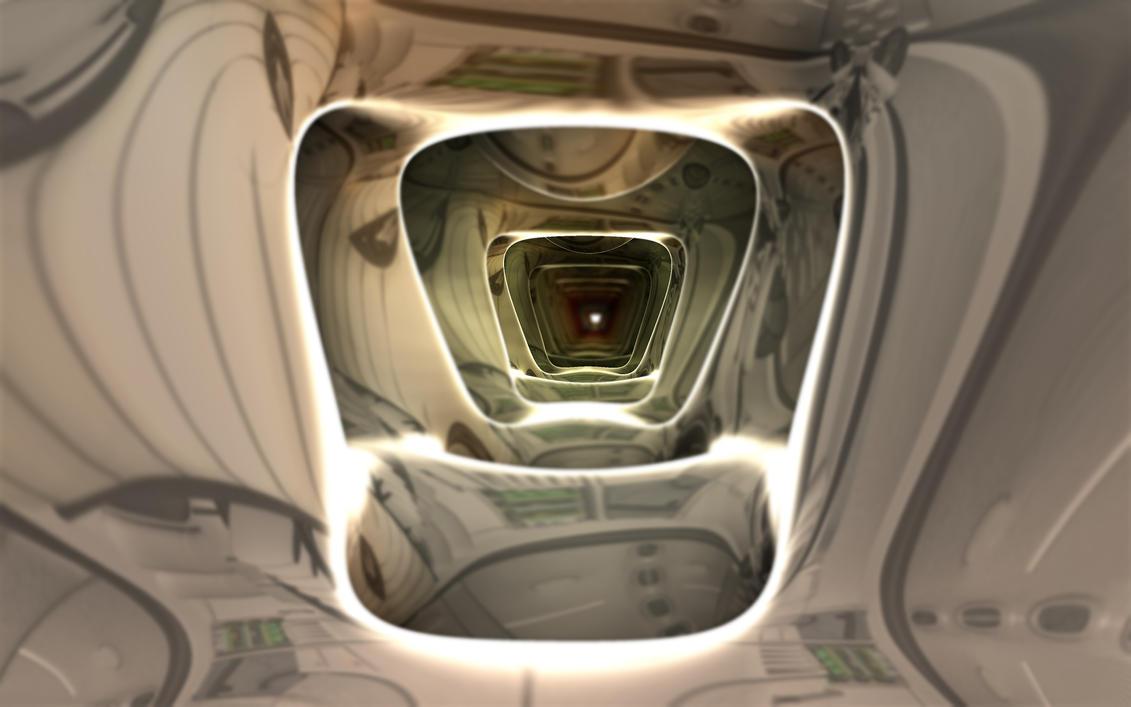 Inside the Anunaki Spaceship - Pong 83 by Topas2012