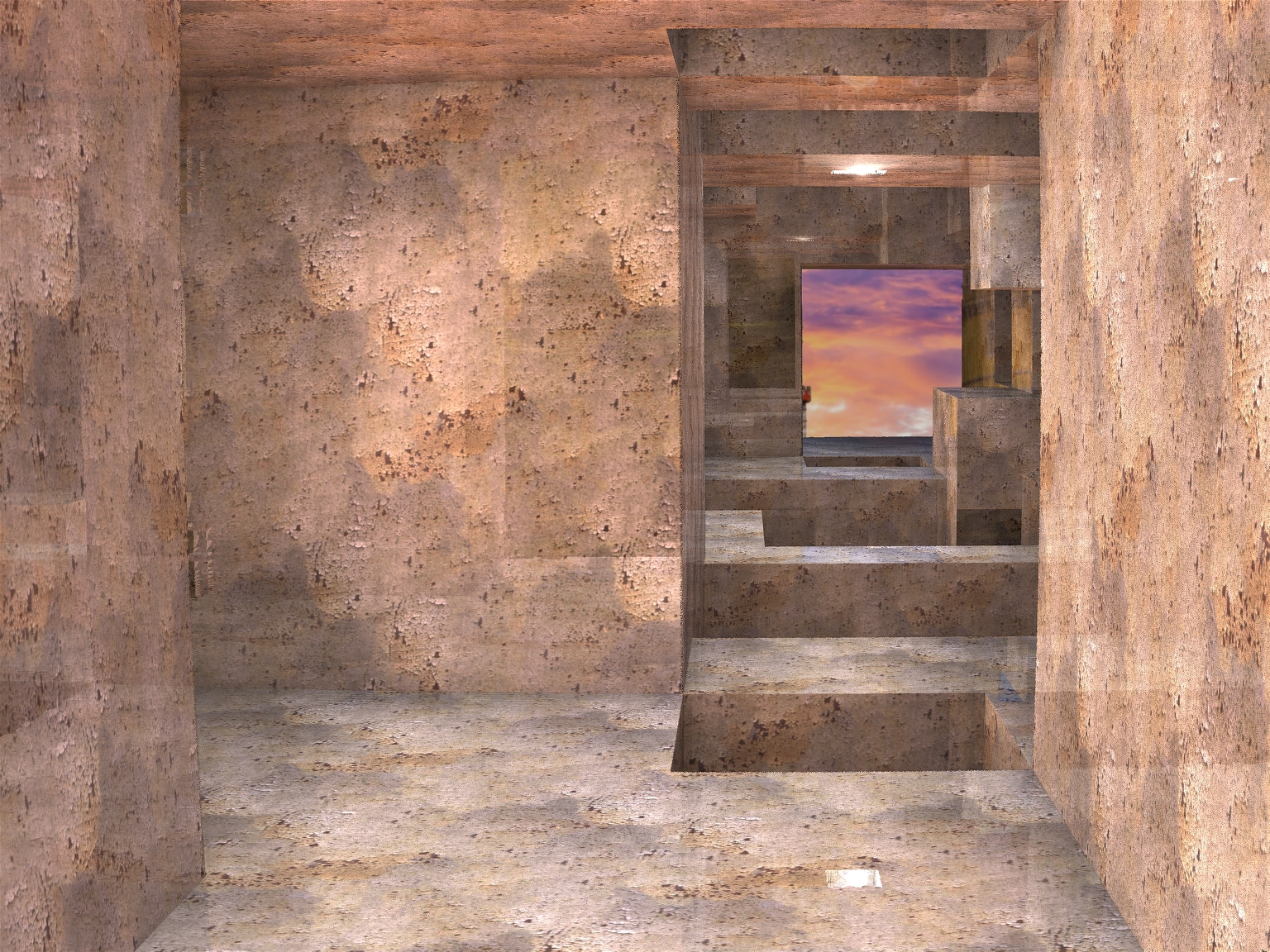 The Rustic Ancient House - Pong 121 by Topas2012