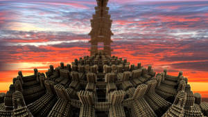 Pong 32 - The Temple by Topas2012