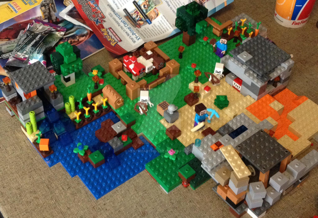 Lego Minecraft: The Overworld (Work-In-Progress) by KenTheArtHog on ...