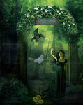 Forbbiden Forest...The Exit by maiarcita