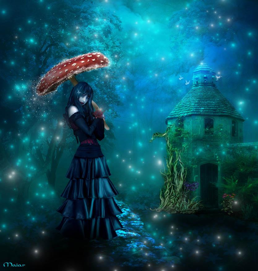 Magic Rain By Maiarcita On DeviantArt