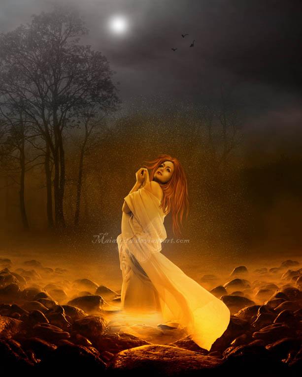 Light Of Rebirth by maiarcita