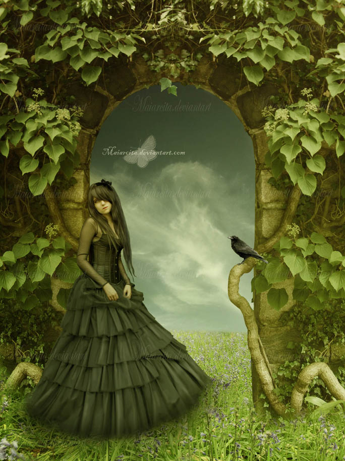 Green Door by maiarcita