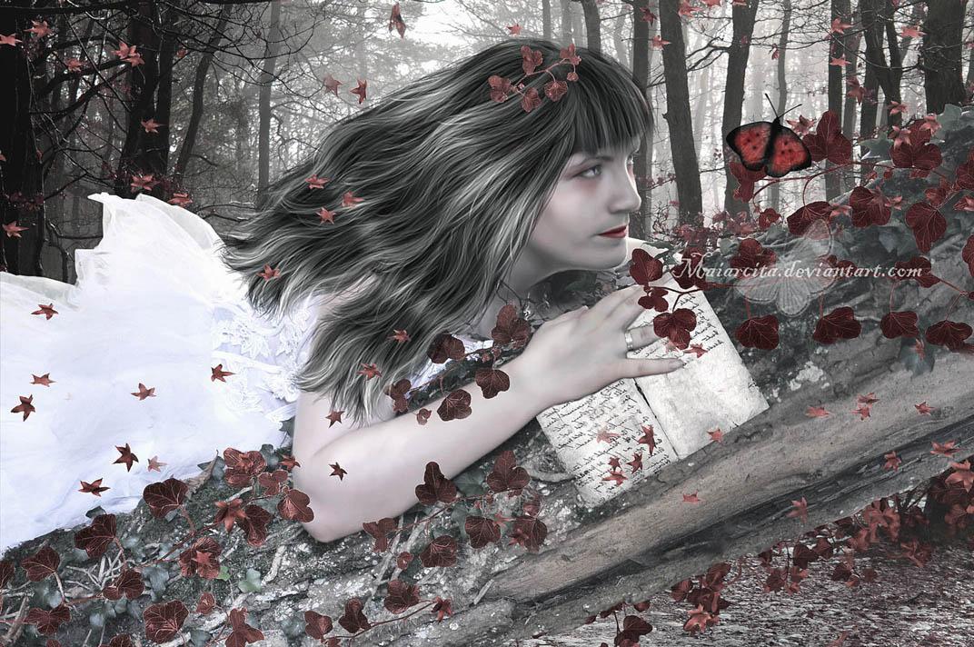 Melancholic by maiarcita