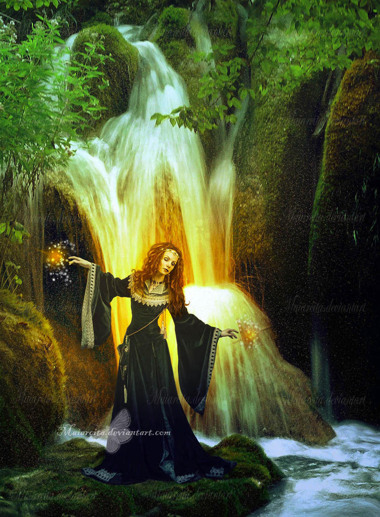 The Magic Waterfall by maiarcita