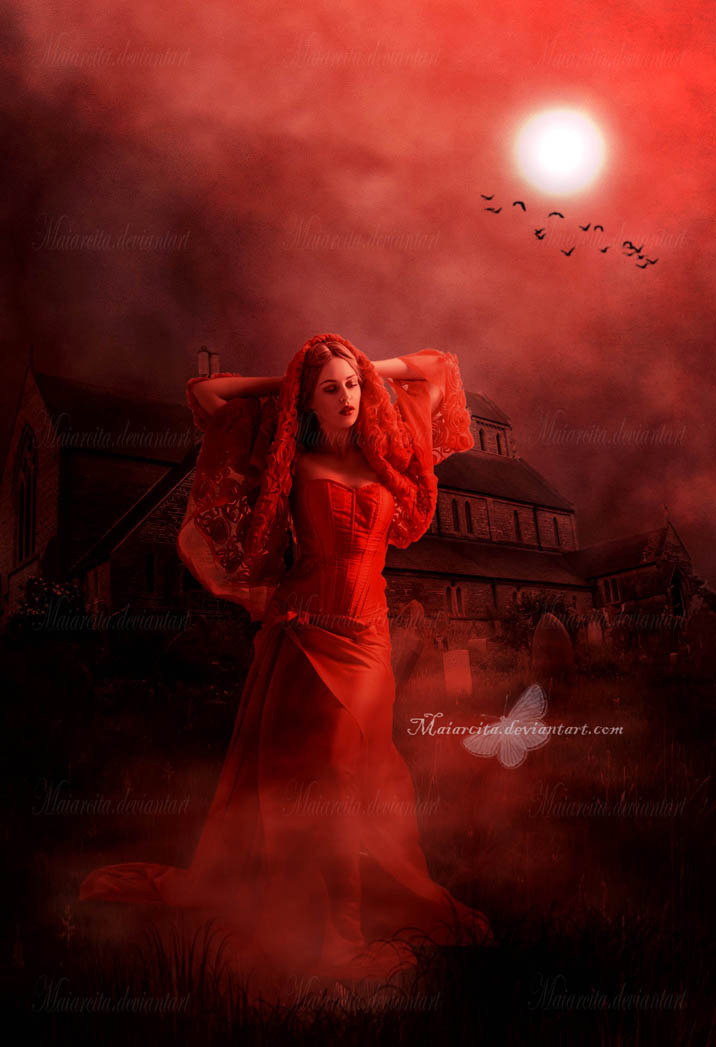 Red Night by maiarcita