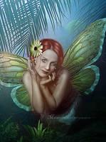 Golden Fairy by maiarcita