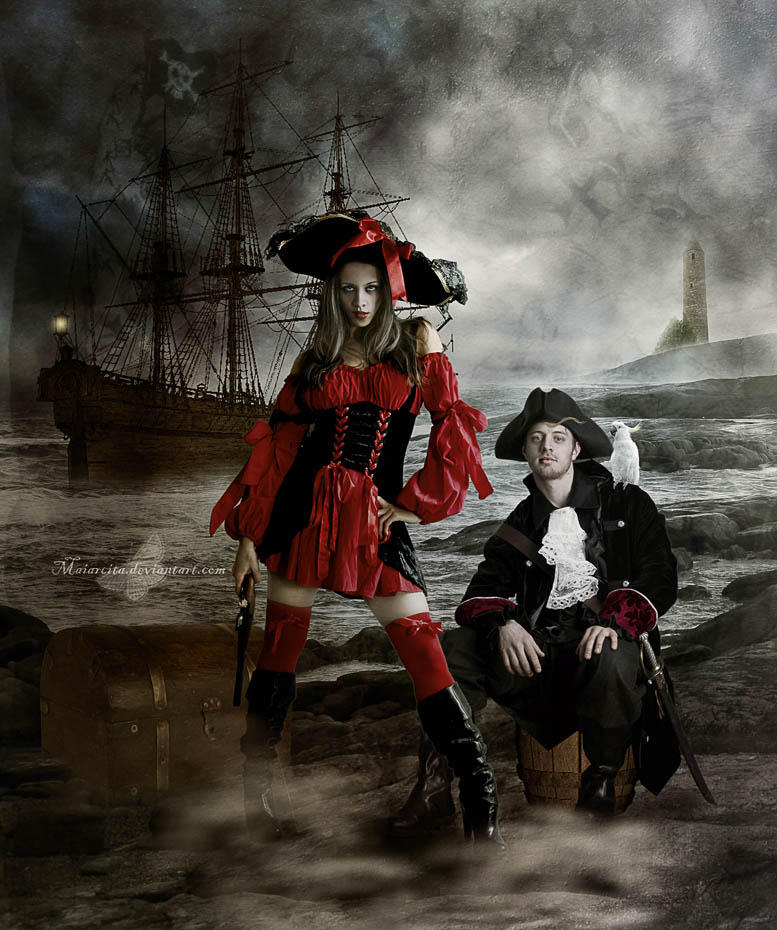 Pirates by maiarcita