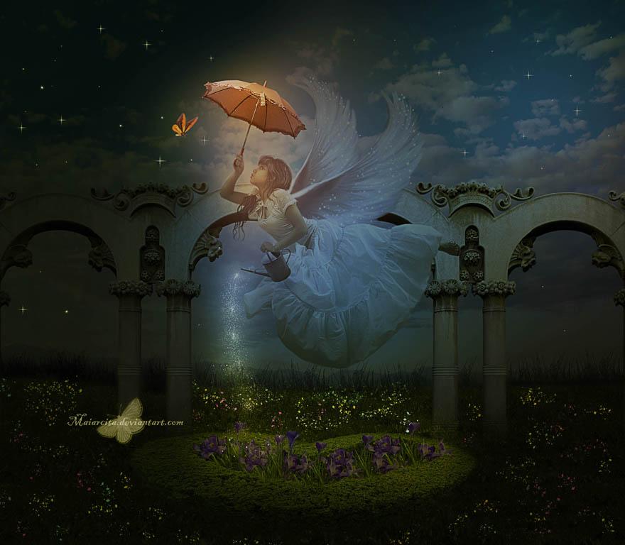 Spray Fairy by maiarcita