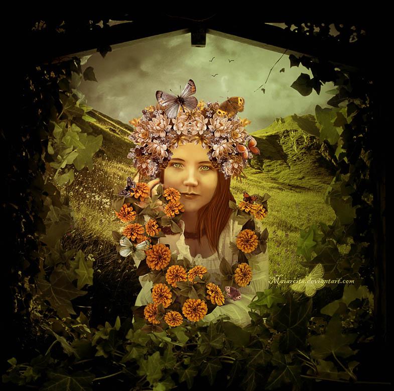 Flora by maiarcita