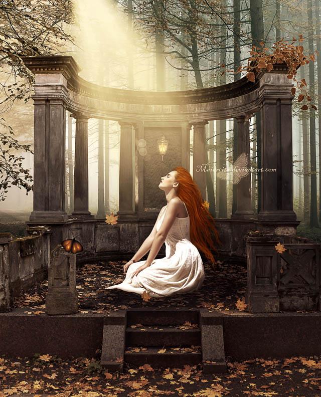 Warm Light Of Autumn by maiarcita