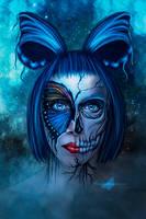 Skull Butterfly by maiarcita