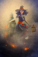 The Witch Of Big Ben by maiarcita